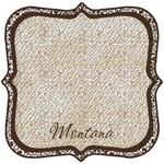 Scrapbook Customs - United States Collection - Montana - 12 x 12 Die Cut Paper - State Shape