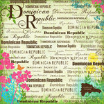 Scrapbook Customs - World Collection - Dominican Republic - 12 x 12 Paper - Paradise