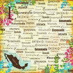 Scrapbook Customs - World Collection - Mexico - 12 x 12 Paper - Ensenada - Paradise