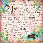 Scrapbook Customs - World Collection - Virgin Islands - 12 x 12 Paper - St. John - Paradise