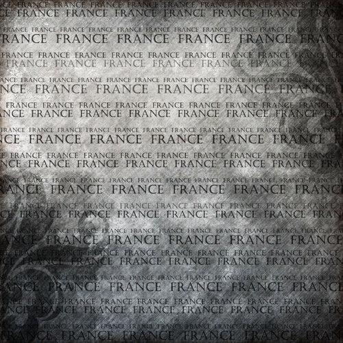 Scrapbook Customs - World Collection - France - 12 x 12 Paper - Explore