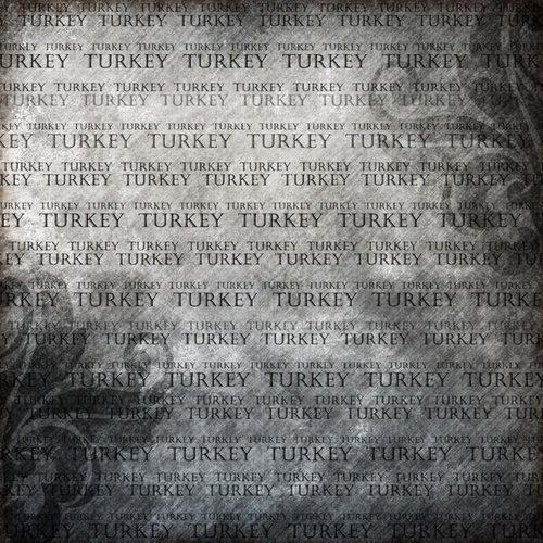 Scrapbook Customs - World Collection - Turkey - 12 x 12 Paper - Explore