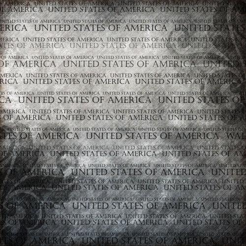 Scrapbook Customs - World Collection - USA - 12 x 12 Paper - Explore