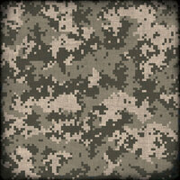 Scrapbook Customs - Military Collection - 12 x 12 Paper - Camouflage - Tan