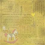 Scrapbook Customs - Religious Collection - 12 x 12 Paper - Quotes - Grandpa
