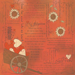 Scrapbook Customs - Religious Collection - 12 x 12 Paper - Quotes - Adoption