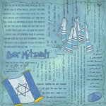 Scrapbook Customs - Religious Collection - 12 x 12 Paper - Quotes - Bar Mitzvah