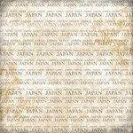 Scrapbook Customs - World Collection - Japan - 12 x 12 Paper - Explore Cream