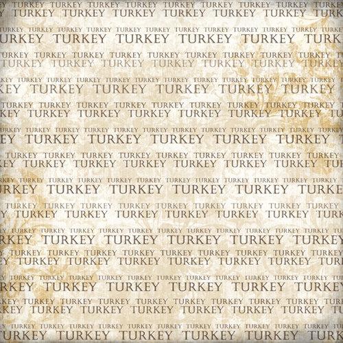 Scrapbook Customs - World Collection - Turkey - 12 x 12 Paper - Explore Cream
