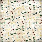 Scrapbook Customs - World Collection - Vietnam - 12 x 12 Paper - Explore Country Shape