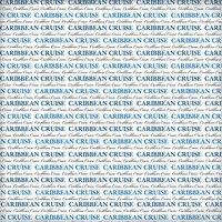 Scrapbook Customs - World Collection - 12 x 12 Paper - Caribbean Cruise Pride