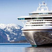 Scrapbook Customs - United States Collection - Alaska - 12 x 12 Paper - Alaskan Cruise Companion