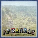 Scrapbook Customs - Vintage Label Collection - 12 x 12 Paper - Arkansas Vintage