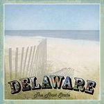 Scrapbook Customs - Vintage Label Collection - 12 x 12 Paper - Delaware Vintage