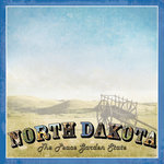 Scrapbook Customs - Vintage Label Collection - 12 x 12 Paper - North Dakota Vintage