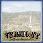 Scrapbook Customs - Vintage Label Collection - 12 x 12 Paper - Vermont Vintage