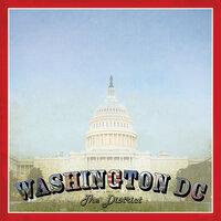 Scrapbook Customs - Vintage Label Collection - 12 x 12 Paper - Washington DC Vintage