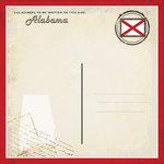 Scrapbook Customs - Vintage Label Collection - 12 x 12 Paper - Alabama Vintage Companion