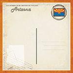 Scrapbook Customs - Vintage Label Collection - 12 x 12 Paper - Arizona Vintage Companion