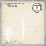 Scrapbook Customs - Vintage Label Collection - 12 x 12 Paper - Illinois Vintage Companion