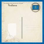 Scrapbook Customs - Vintage Label Collection - 12 x 12 Paper - Indiana Vintage Companion