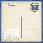 Scrapbook Customs - Vintage Label Collection - 12 x 12 Paper - Kansas Vintage Companion