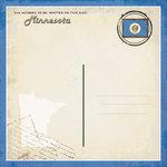 Scrapbook Customs - Vintage Label Collection - 12 x 12 Paper - Minnesota Vintage Companion