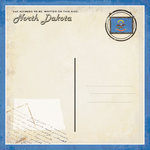 Scrapbook Customs - Vintage Label Collection - 12 x 12 Paper - North Dakota Vintage Companion