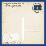 Scrapbook Customs - Vintage Label Collection - 12 x 12 Paper - Pennsylvania Vintage Companion