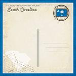 Scrapbook Customs - Vintage Label Collection - 12 x 12 Paper - South Carolina Vintage Companion
