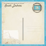 Scrapbook Customs - Vintage Label Collection - 12 x 12 Paper - South Dakota Vintage Companion