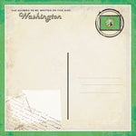 Scrapbook Customs - Vintage Label Collection - 12 x 12 Paper - Washington Vintage Companion