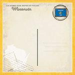 Scrapbook Customs - Vintage Label Collection - 12 x 12 Paper - Wisconsin Vintage Companion
