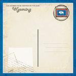 Scrapbook Customs - Vintage Label Collection - 12 x 12 Paper - Wyoming Vintage Companion