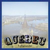 Scrapbook Customs - Vintage Label Collection - 12 x 12 Paper - Quebec Vintage