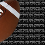 Scrapbook Customs - Sports Collection - 12 x 12 Paper - Football Go Big Right