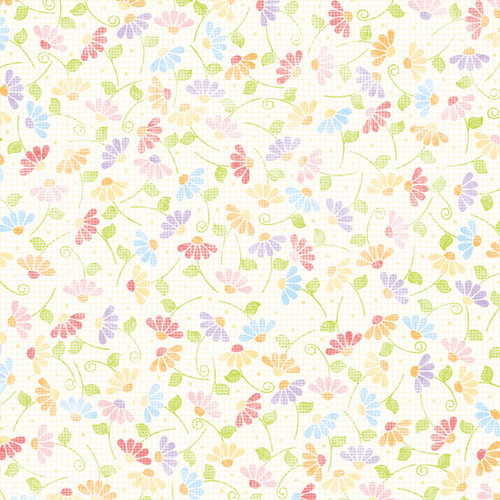 Scrapbook Customs - Easter Collection - 12 x 12 Paper - Fresh Flowers