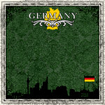 Scrapbook Customs - 12 x 12 Paper - Germany Sightseeing