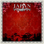 Scrapbook Customs - 12 x 12 Paper - Japan Sightseeing