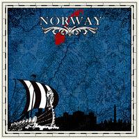 Scrapbook Customs - 12 x 12 Paper - Norway Sightseeing