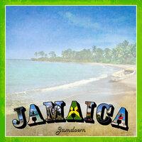 Scrapbook Customs - 12 x 12 Paper - Jamaica Paradise Vintage