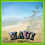 Scrapbook Customs - 12 x 12 Paper - Maui Paradise Vintage