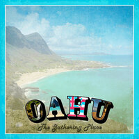 Scrapbook Customs - 12 x 12 Paper - Oahu Paradise Vintage