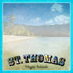 Scrapbook Customs - 12 x 12 Paper - St. Thomas Paradise Vintage