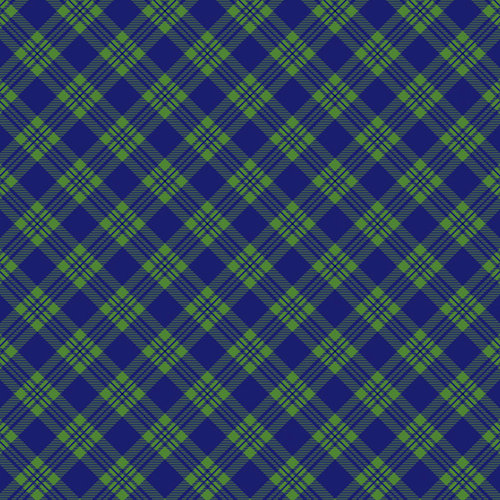 Scrapbook Customs - 12 x 12 Paper - Scotland Sightseeing Pattern