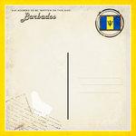 Scrapbook Customs - 12 x 12 Paper - Barbados - Paradise Vintage Companion