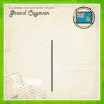 Scrapbook Customs - 12 x 12 Paper - Grand Cayman - Paradise Vintage Companion