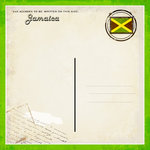 Scrapbook Customs - 12 x 12 Paper - Jamaica - Paradise Vintage Companion