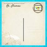 Scrapbook Customs - 12 x 12 Paper - St. Thomas - Paradise Vintage Companion