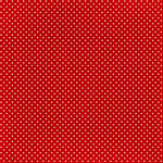 Scrapbook Customs - 12 x 12 Paper - Magical Red With Dots
